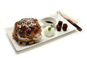 チョコレート パンケーキ - Chocolate pancake - 850円(税別)
