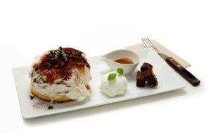 ティラミス スフレパンケーキ - Tiramisu pancake - 850円(税別)