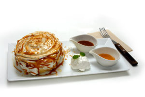 キャラメル パンケーキ - Caramel pancake - 850円(税別)