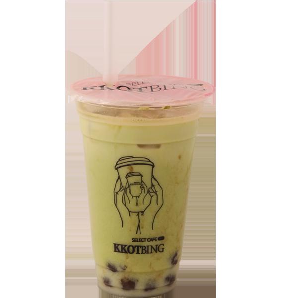 玄米抹茶ミルクティー¥550 (税込)