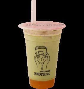 マンゴー抹茶ミルクティー