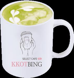 抹茶ラテ ¥500 (税別)