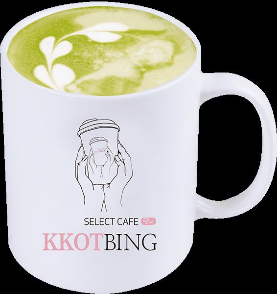抹茶ラテ ¥500 (税込)
