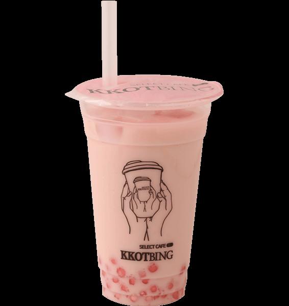 イチゴミルクティー¥550 (税込)