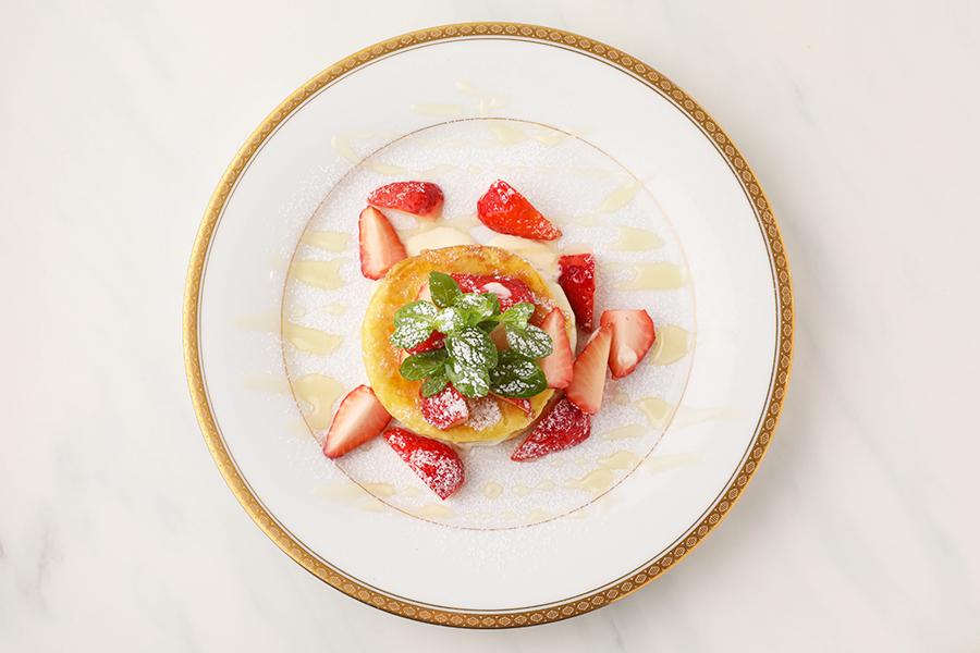 ホットクパンケーキ(苺)